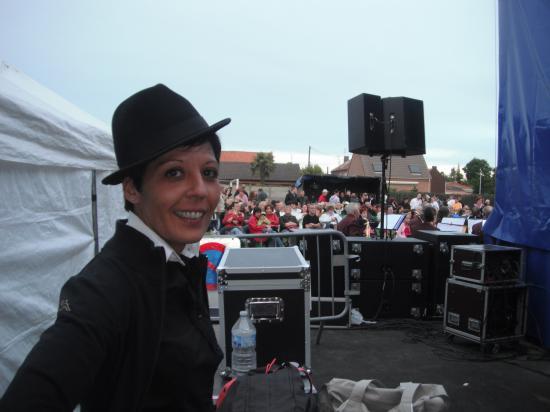 Avant la scène..24 juin 2011