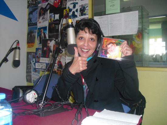 A radio plus le 17 fevrier promotion de mon CD